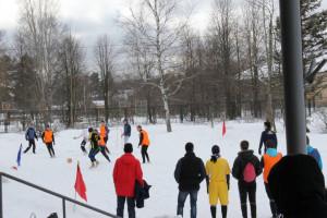 Футбол на снегу 3