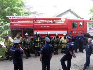 Пожарные учения_2