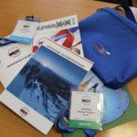 атрибутика VIII Всероссийского съезда геологов